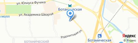 Мартин на карте Екатеринбурга