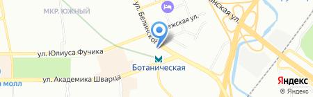 Хирш на карте Екатеринбурга
