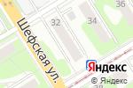 Схема проезда до компании Forward в Екатеринбурге