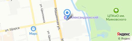 ГеоТрейдинг на карте Екатеринбурга