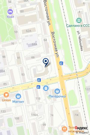 Мастерская судебных тяжб на карте Екатеринбурга
