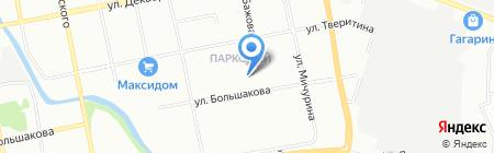 Средняя общеобразовательная школа №62 на карте Екатеринбурга