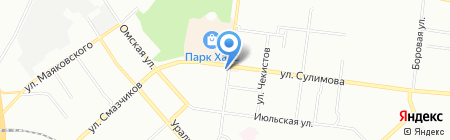 Киоск по продаже фастфудной продукции на карте Екатеринбурга