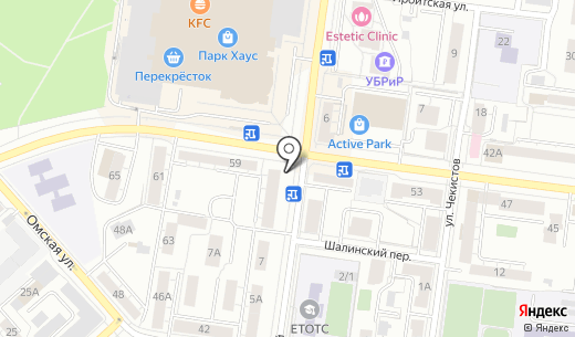 Киоск по продаже фастфудной продукции. Схема проезда в Екатеринбурге