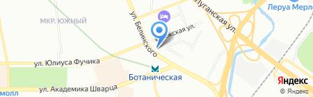 Верум на карте Екатеринбурга