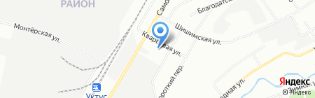 Детский сад №6 на карте Екатеринбурга