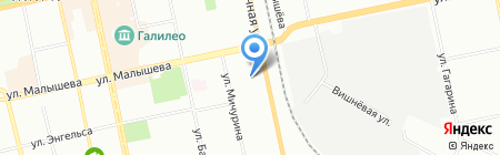 РуссИнвест на карте Екатеринбурга