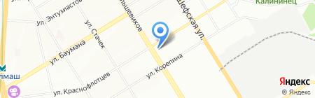 ОРТО на карте Екатеринбурга