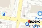 Схема проезда до компании АДАМАС в Екатеринбурге