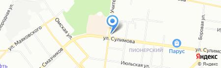 Сладкоежка на карте Екатеринбурга