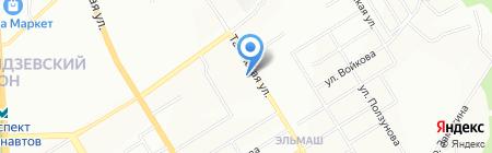 Урал-Окна на карте Екатеринбурга
