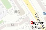 Схема проезда до компании Он-Сезон в Екатеринбурге