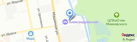ПУЗЫРИ на карте Екатеринбурга