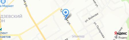Магазин домашней одежды и колготок на карте Екатеринбурга