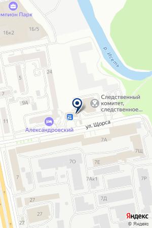 БугаттиБоулинг на карте Екатеринбурга