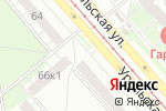 Схема проезда до компании Суши & Fresh в Екатеринбурге
