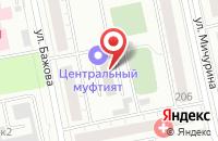 Схема проезда до компании Стеллит в Екатеринбурге