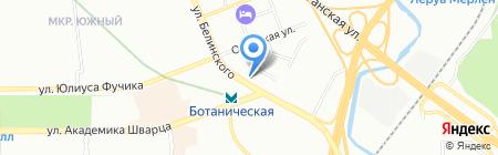 Фермерский на карте Екатеринбурга