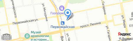 Кросс на карте Екатеринбурга