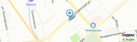 Avtomag196 на карте Екатеринбурга