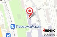 Схема проезда до компании Теплотех Эко в Екатеринбурге