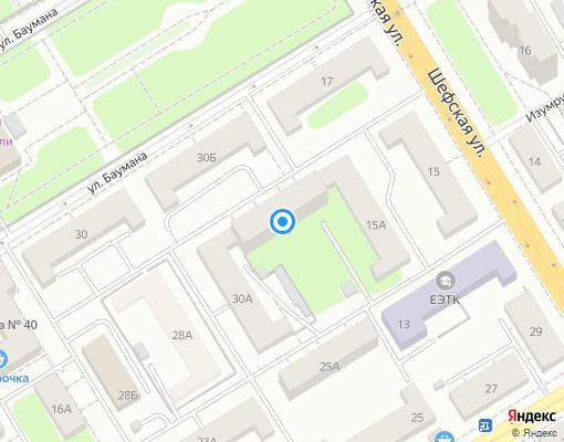 Жилищно-строительный кооператив «жк № 166» на карте Екатеринбурга