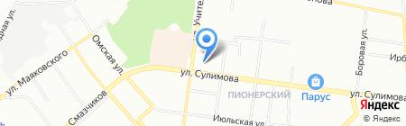 Альфа-пром на карте Екатеринбурга