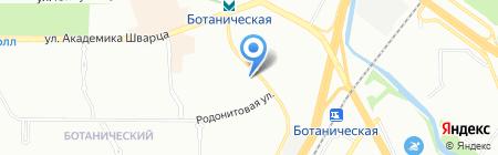 Яблоко на карте Екатеринбурга