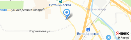 Надежда на карте Екатеринбурга