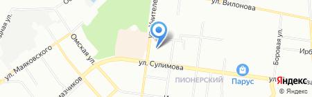 СКБ-Банк на карте Екатеринбурга