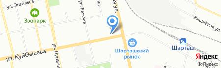 ДОМинанта на карте Екатеринбурга