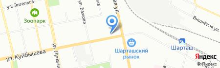 Деньги мира на карте Екатеринбурга