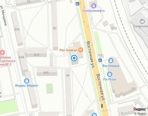 Жилищно-строительный кооператив «ПЖЭК № 51» на карте Екатеринбурга