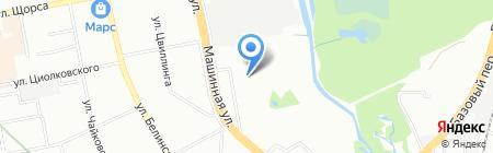 Детский сад №555 на карте Екатеринбурга