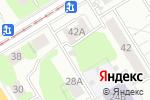 Схема проезда до компании Trit Avto в Екатеринбурге