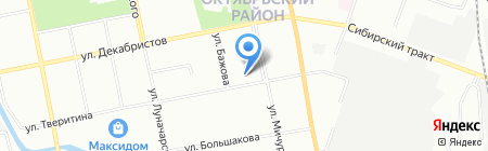 Гармония на карте Екатеринбурга