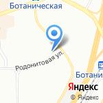 LadyBURG на карте Екатеринбурга