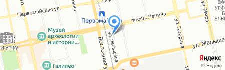 Сервис-Копир на карте Екатеринбурга