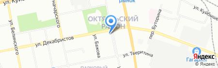 Крепеж маркет на карте Екатеринбурга