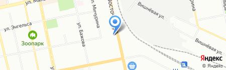 Лина на карте Екатеринбурга