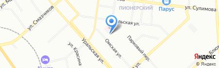 Сказка на карте Екатеринбурга