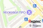 Схема проезда до компании Элика в Екатеринбурге