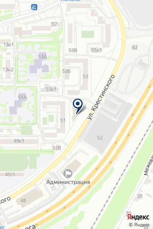 Infinito на карте Екатеринбурга