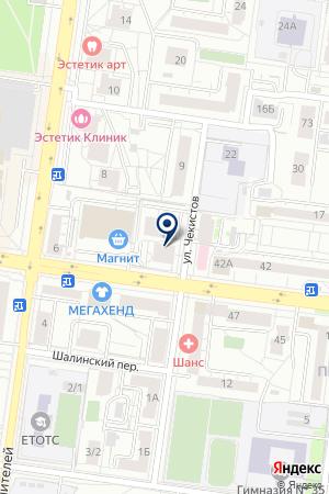 Клаустрофобия на карте Екатеринбурга