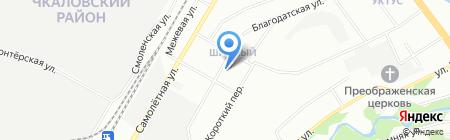 Почтовое отделение №87 на карте Екатеринбурга