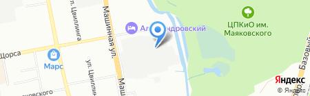 Урал Гео Инфо на карте Екатеринбурга