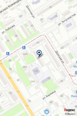 КОМБИНАТ ТОРГТЕХНИКА на карте Екатеринбурга