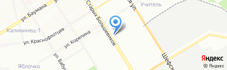 ЖБИ-Урал на карте Екатеринбурга