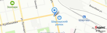 Пикник на карте Екатеринбурга