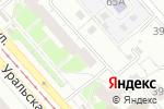 Схема проезда до компании Ассоль в Екатеринбурге